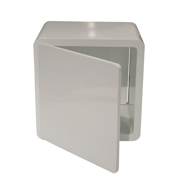 Lounge Cube Closed White