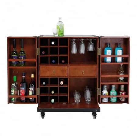 Wardrobe Trunk Bar Colonial Medium