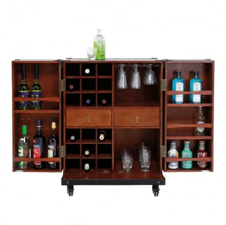 Wardrobe Trunk Bar Colonial Medium