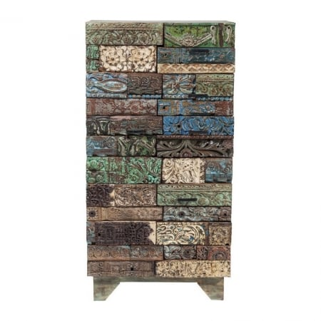 Cabinet Shanti Surprise Puzzle 2Door 3Drw