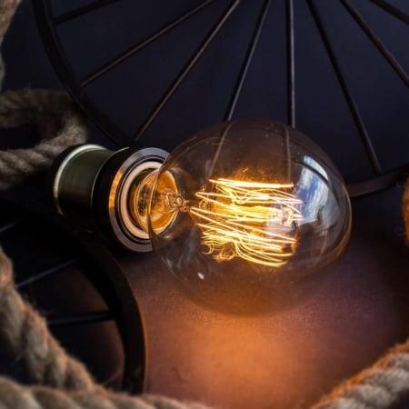 Лампа Edison G80 диммируемая