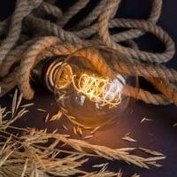 Лампа Edison G80 spiral диммируемая