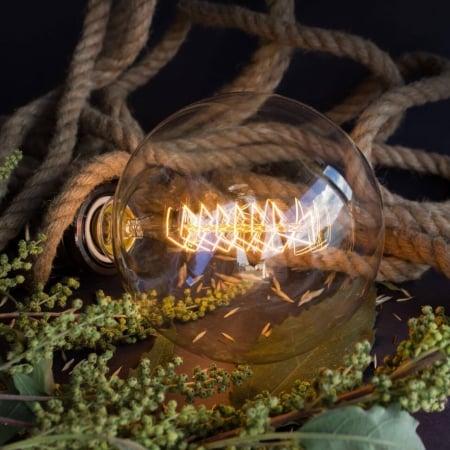 Лампа Edison G125 spiral диммируемая