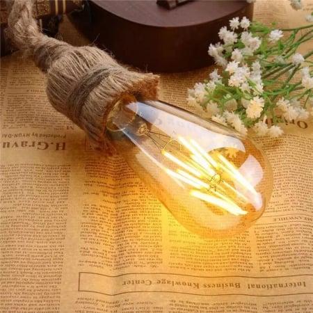 Лампа Edison LED ST64 6W-2200K