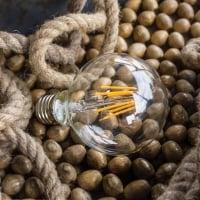 Лампа Edison LED G80 6W-2700K