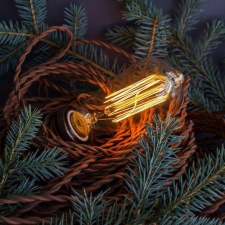 Лампа Эдисона ST58 * 146mm диммируемая