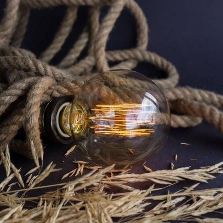 Лампа Edison G95 диммируемая