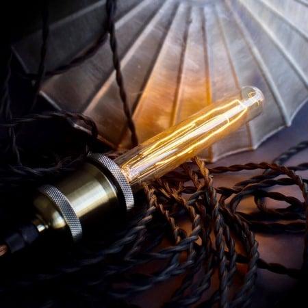 Лампа Edison T30x185 диммируемая