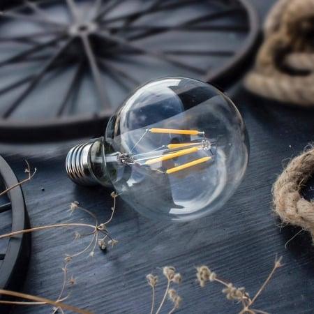Лампа Edison LED G80 4W-2700K