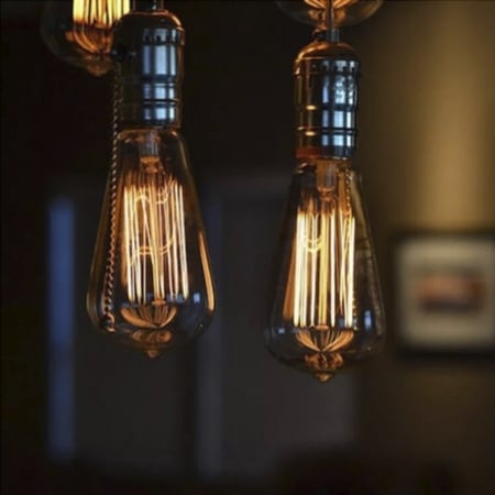 Лампа Эдисона диммируемая ST64 *146mm
