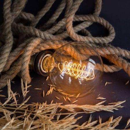 Лампа Эдисона G95 диммируемая