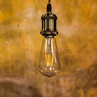 Лампа Эдисона LED диммируемая ST64 6w 1800K