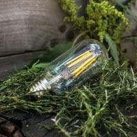 Лампа Эдисона LED T45 6W 2200K диммируемая