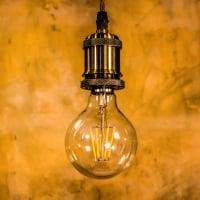 Лампа Эдисона LED G80 6W 2200K диммируемая