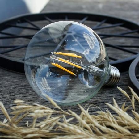 Лампа Эдисона LED G95 6W 1800K