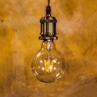 Лампа Эдисона LED G95 6W 2700K