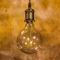 Лампа Эдисона LED G125 4W 2700K диммируемая