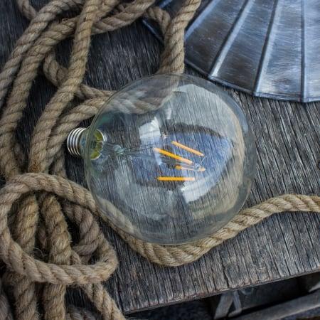 Лампа Эдисона LED G125 4W 1800K