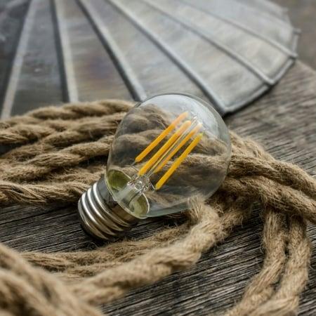 Лампа Эдисона LED G50 4W 2200K