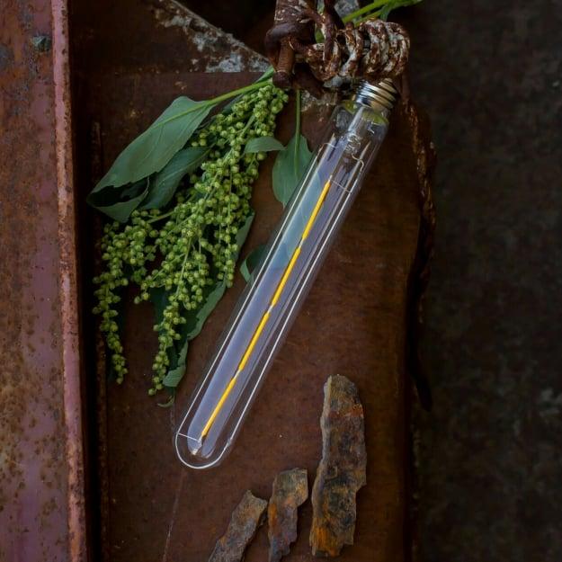 Лампа Эдисона LED T30*185MM 4W 1800K диммируемая