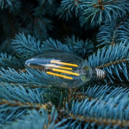 Лампа Эдисона LED C35 100mm  4W  2700K
