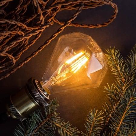 Лампа Эдисона LED G95 x125MM   4W  2200K