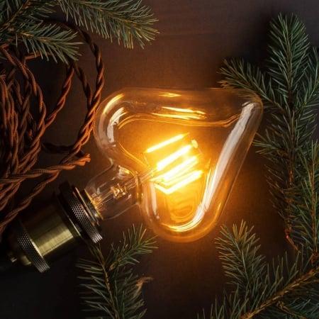 Лампа Эдисона LED X95 4W 2200K Сердце