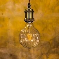 Лампа Эдисона LED MG65 4W 2200K Шар