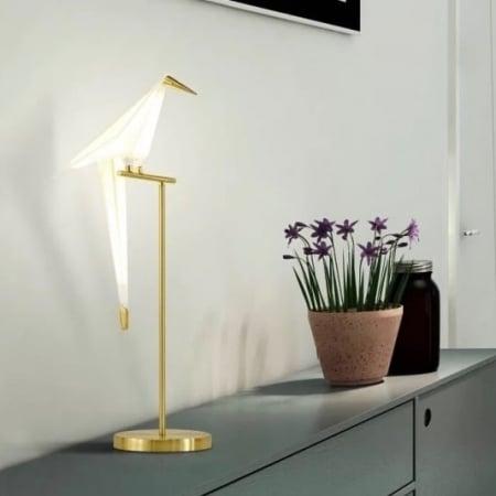 Лампа настольная Bird h82см