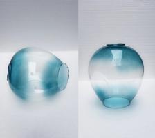 Плафон Glass Blue D15