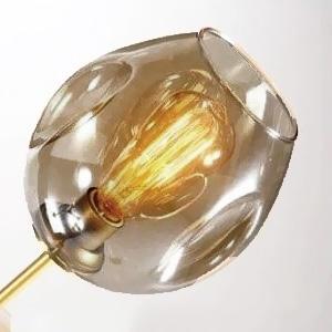 Плафон Glass Coffee D15