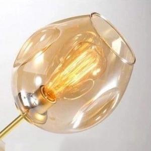 Плафон Glass Amber D15
