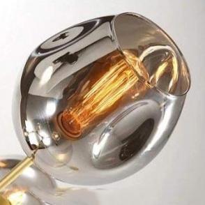 Плафон Glass Smoky Grey D20