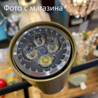 Люстра LED Black/Gold L135 3P
