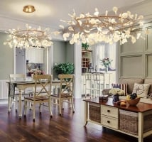 Люстра LED Petals Copper D105/H30