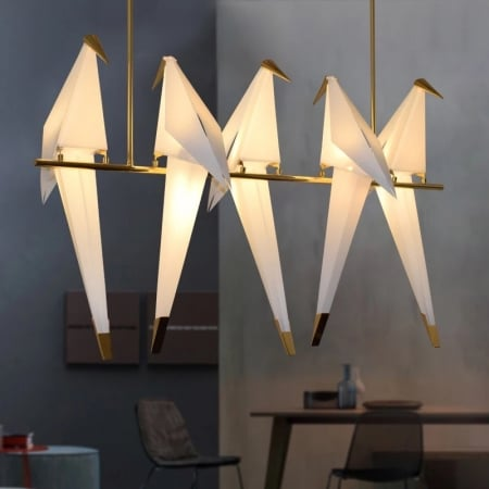 Люстра Birds на 5 плафонов L110 H70cm