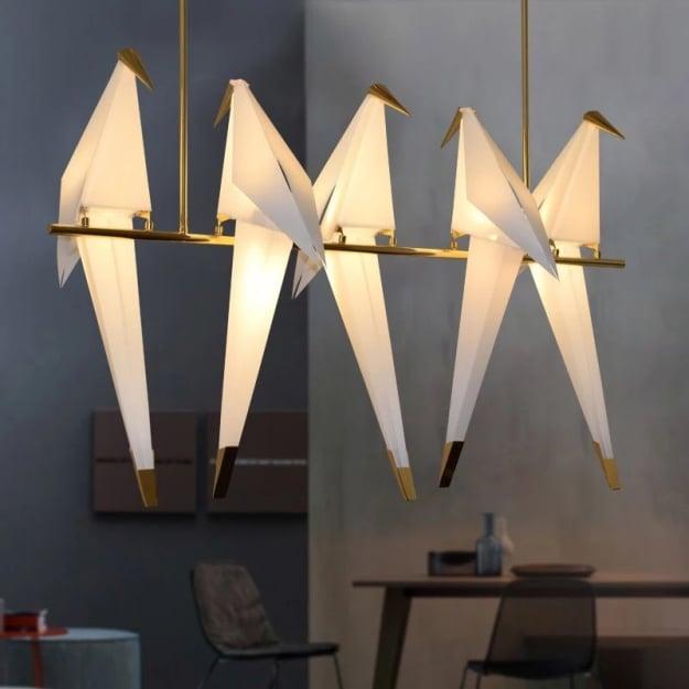 Люстра Birds на 5 плафонов L112 H70cm