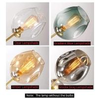 Люстра Branching  Gold/Amber на 10 плафонов