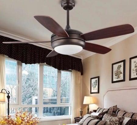 Светильник вентилятор Retro Led Fan d107см