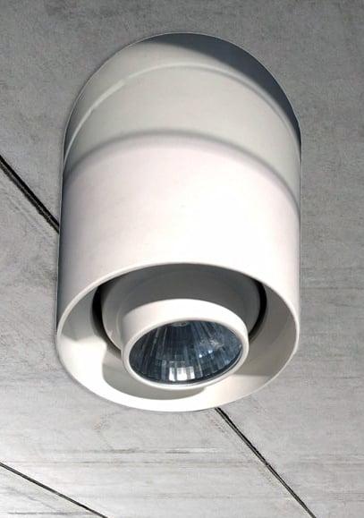 Спот потолочный Tube White