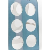 Bottle Rack Open Bottle Light Blue