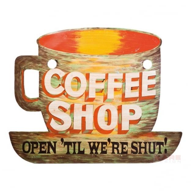 Настенный декор Coffee Shop