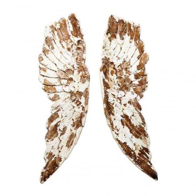 Wall Decoration Antique Wings