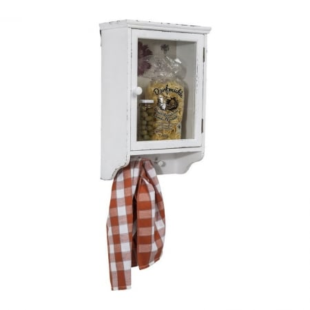 Wall Cabinet Flower Garden 1Door 52cm