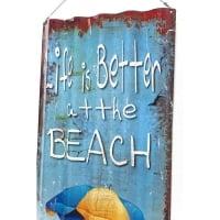 Настенный декор Beach Wave 82x37cm Assorted