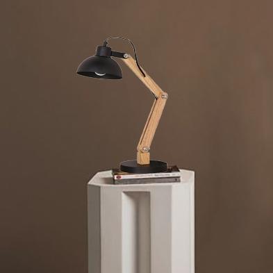 Настольная лампа Metal Wood H45