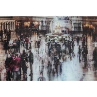 Картина на стекле Grand Central Station 120x160cm