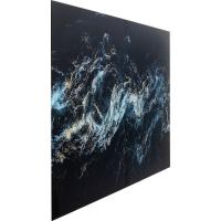 Картина на стекле Blue Portal 150x100cm