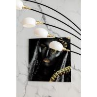 Картина на стекле Fearless 100x100cm