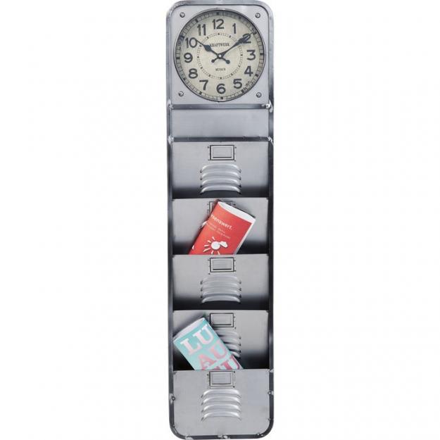 Часы настенные Thinktank Kontor 124x30cm